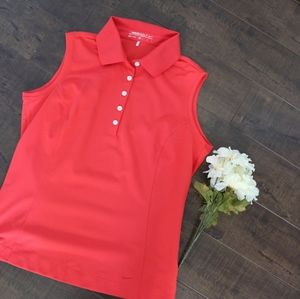Nike Golf Ladies collared sleeveless top